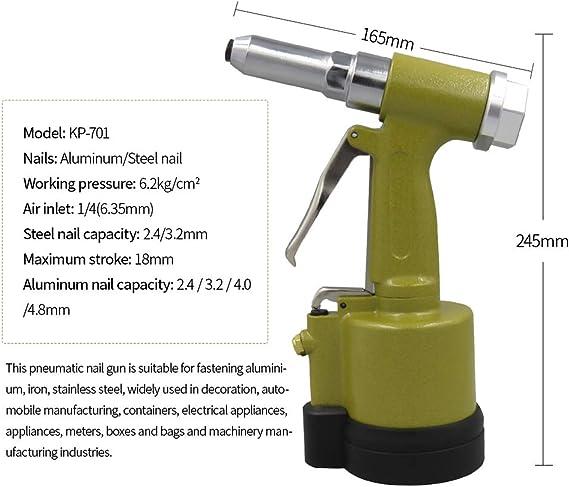 dorado Conector neum/ático de tubo de aire para herramientas neum/áticas de aire POWERTOOL