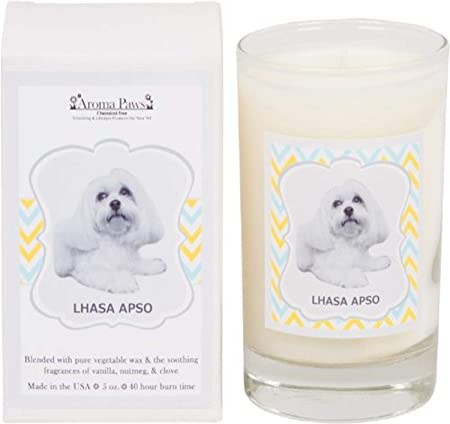 Aroma Paws Breed Candle Glass 5-Ounce Labrador