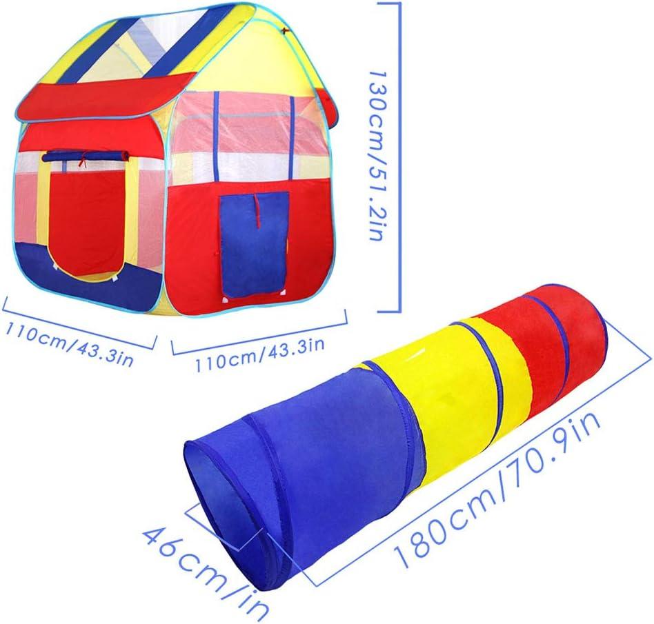Tienda de Juegos para niños Play Tent for Kids para Playhouse Outdoor Outdoor Boys Girls Child Gift (Color : Pink) Pink