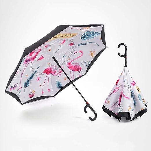 Color : A Umbrella 8 Bone Umbrella Stand Ultra Light Sun Protection Easy Folding Rain Dual-use Three-fold Windproof Umbrella