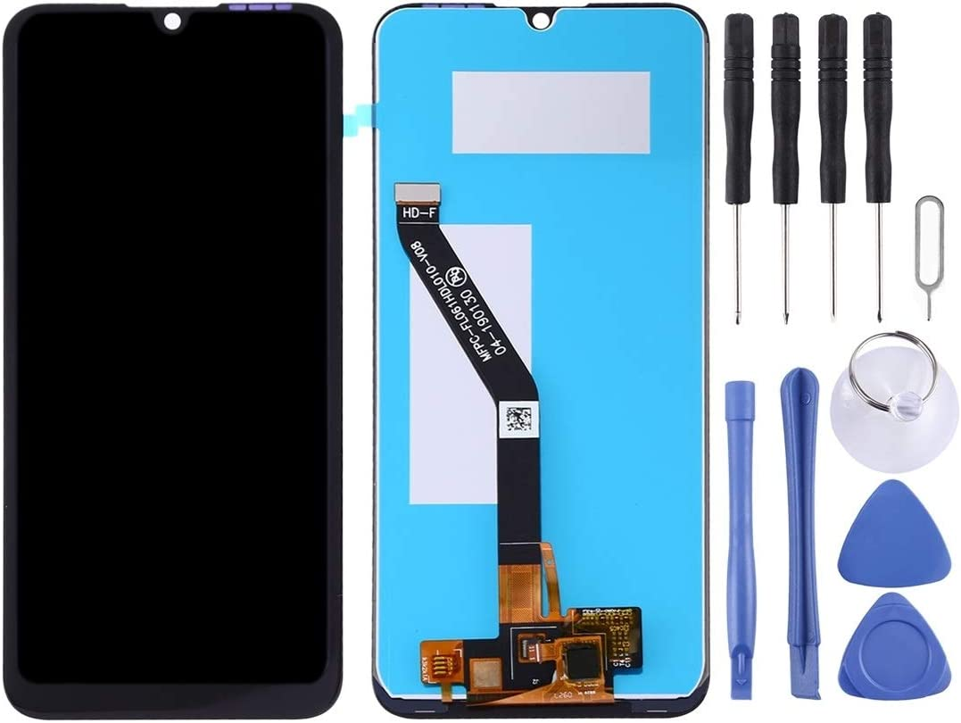 Black Color : Black, Size : One Size MEETBM ZIMO,LCD Screen and Digitizer Full Assembly for Huawei Honor 8A Pro