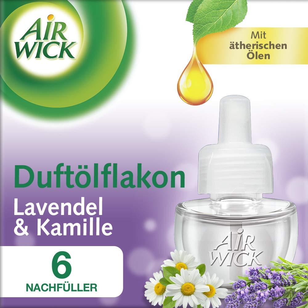 Air Wick Duftö lflakon Nachfü ller, Seide & Lilienfrische, 3er Pack (3 x 19 ml) 3009582
