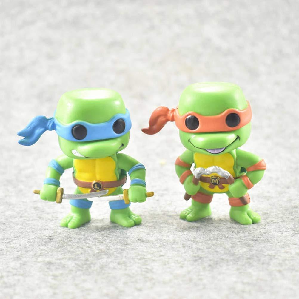 Amazon.com: Fun-ko POP 6PC / Brother Set TMNT Action Figure ...