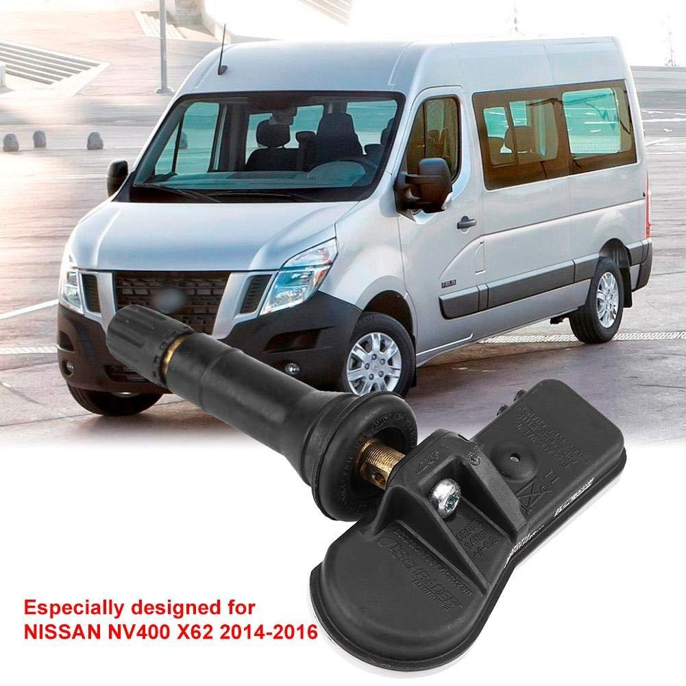 Hlyjoon TPMS 407009322R 4Pcs Sensore di monitoraggio della Pressione Pneumatici per Auto Citan W415 Nv400 X62 Captur Clio Kangoo Master Symbol Thalia Twingo Trafic X82 Forfour A453 2005-2016