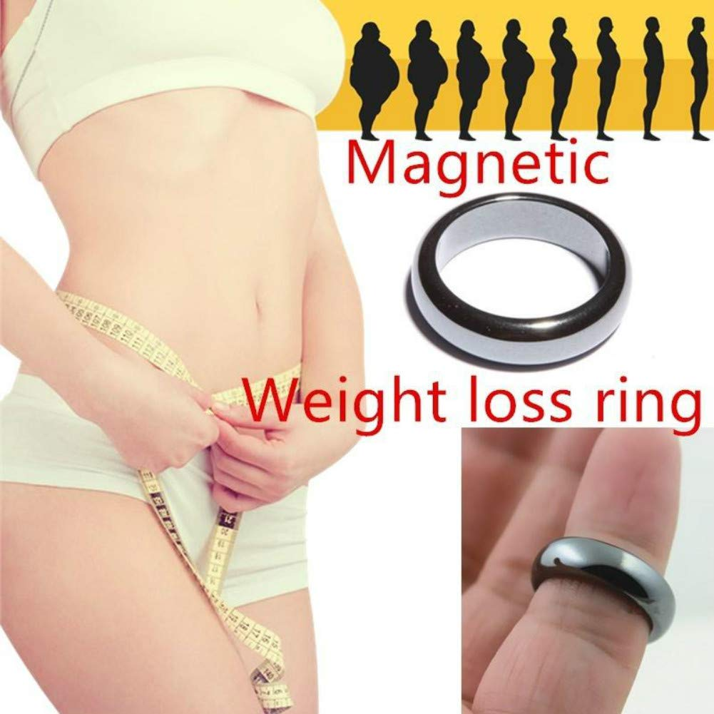 Magnetic Healthcare Ring Weight Loss Ring String Stimulating Acupoints Gallstone Ring for Men Women