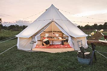 Phenomenal Dream House Outdoor Waterproof Cotton Canvas Family Camping Bell Tent Download Free Architecture Designs Itiscsunscenecom