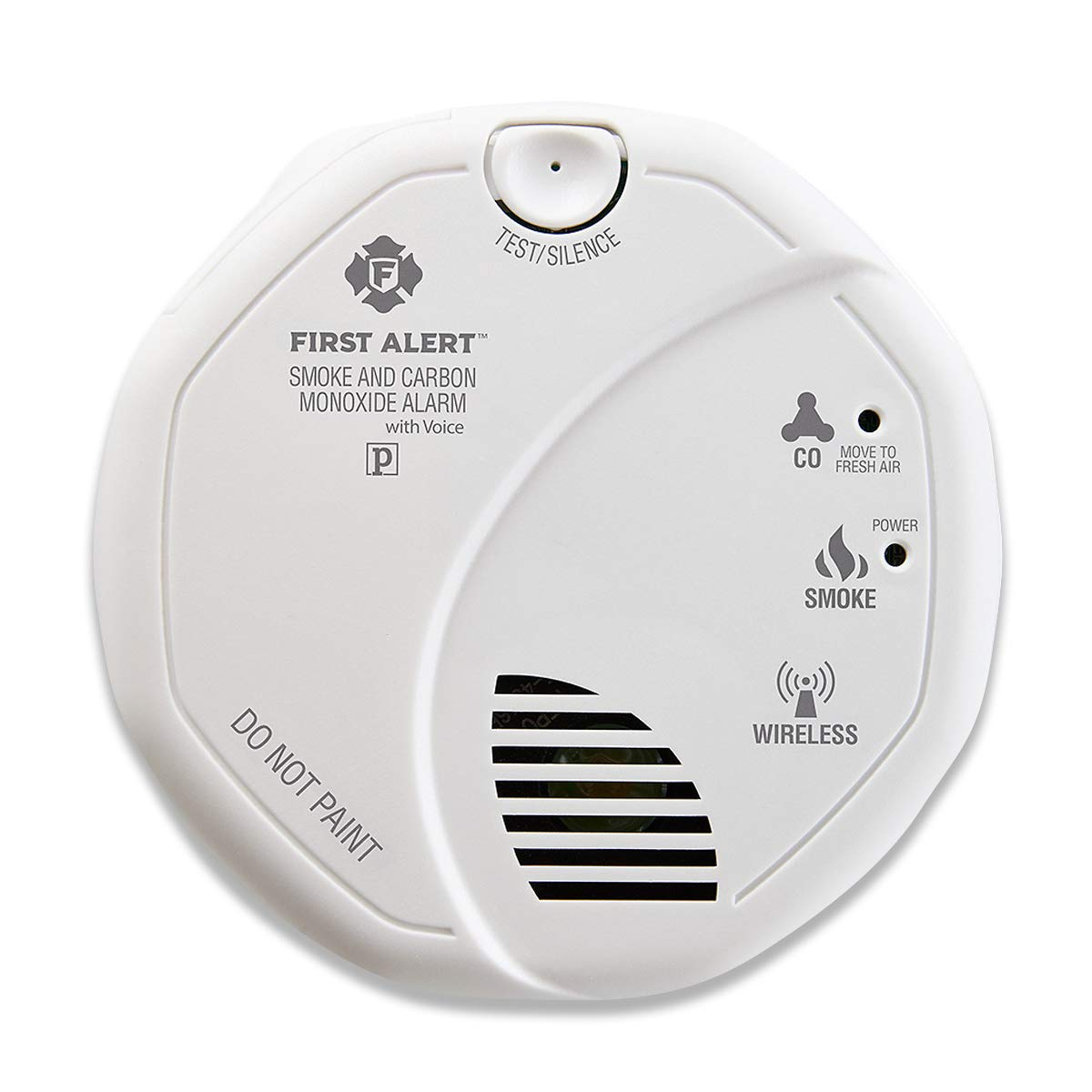 First Alert SCO501CN-3ST Battery Operated Combination Smoke and Carbon Monoxide Alarm with Voice Location by First Alert
