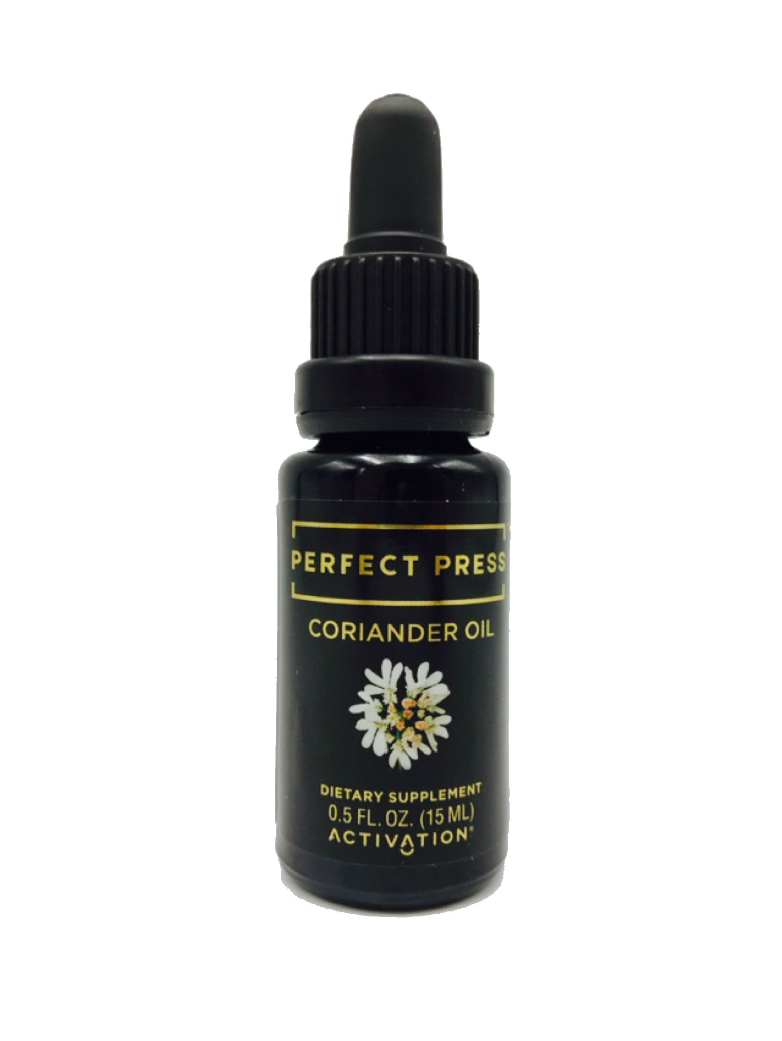 Coriander Oil - Perfect Press - Antimicrobial, Dietary Fiber, Immune Support, 15 ml
