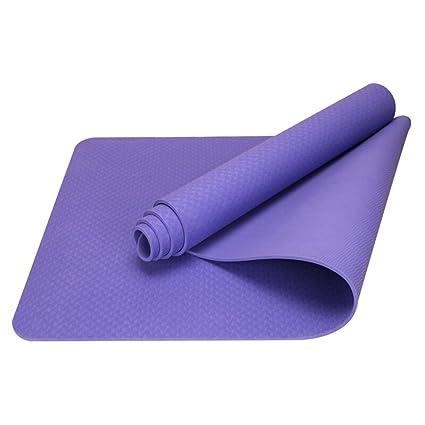 HCJYJD Alfombrillas de Yoga, Thicken Widen Movimiento ...