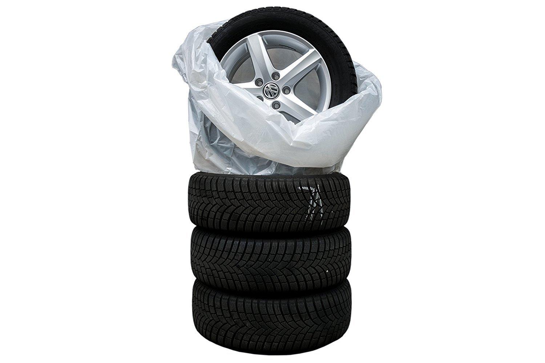 pneumatici Sacchi Rad scafo Protegge contro la tua bagagliaio sporco Pneumatici Sacchi nel Set di Borse per sostituire pneumatici Adatto per tutti i pneumatici fino a 22/pollici molto resistente agli strappi e all usura e stabile
