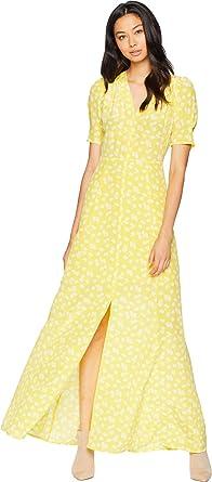 fd388fd4f8b Juicy Couture Women s Ditsy Daisy Maxi Dress Morning Sunshine Ditsy 8
