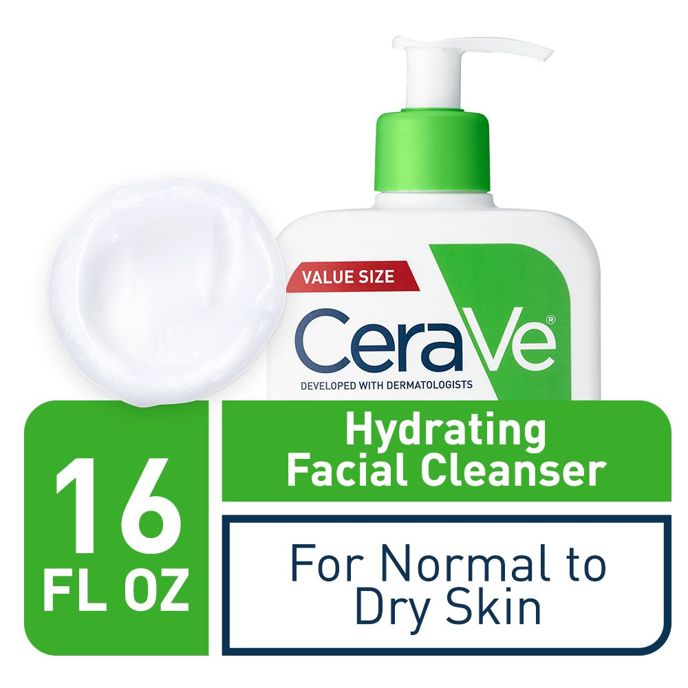 CeraVe Hydrating Face Wash - Best face wash for men