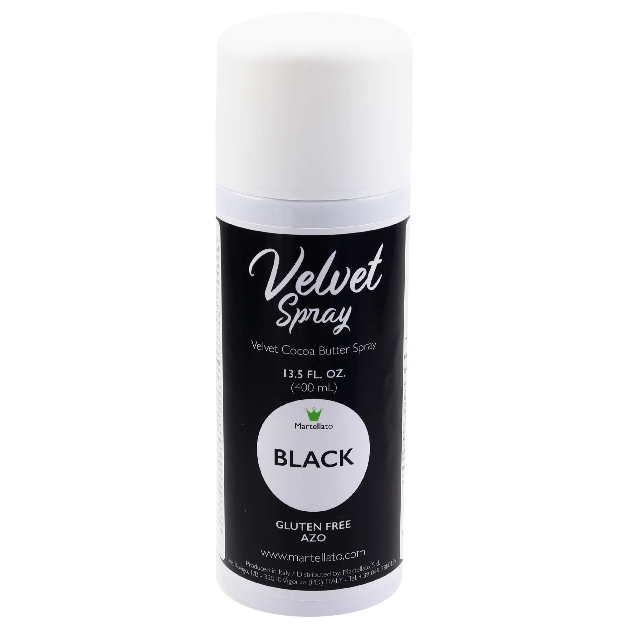 Martellato Black Velvet Spray 13.5 Ounce (400ml) by Martellato (Image #1)