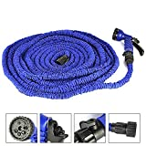 100ft Most Heat-resistant Water Garden Pipe Expandable Hose As Seen on Tv,blue