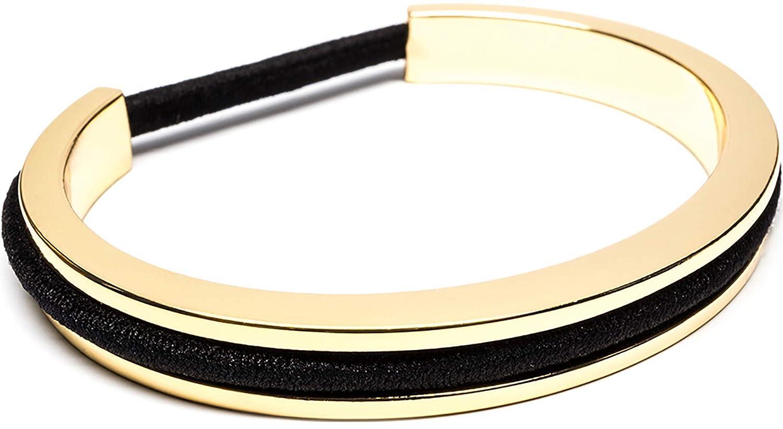 Bittersweetヘアタイブレスレットby Maria Shireen – クラシックデザイン B01FMX7ZC0 Steel/Gold