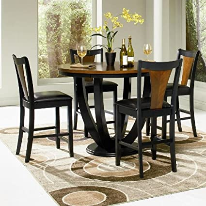 Boyer 5 Pc Counter Height Table Set By Coaster