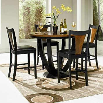 Boyer 5-Pc Counter Height Table Set by Coaster