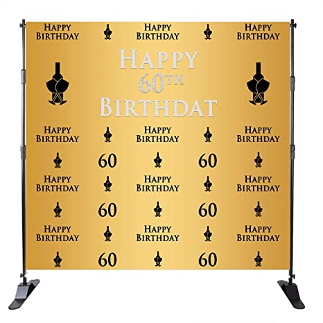 Camera & Photo Custom Casino 40th 50th Birthday Poker Silver Cards Adult Tufted Black Photo Backdrop Computer Print Party Background