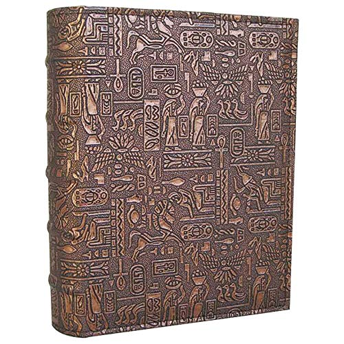 Longpro Imitation Leather Photo Album Deluxe Series for Vacation Honeymoon Holiday Travel Souvenir (Ancient Egypt)