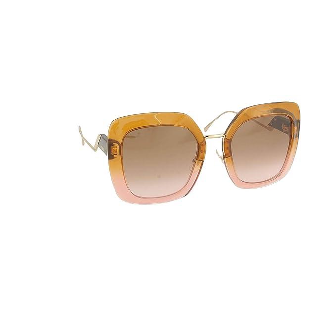 Amazon.com: Fendi FF0317/S - Gafas de sol, color rosa y ...