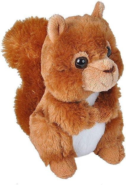 "Miyoni Red SQUIRREL 8/"" Plush Stuffed Animal Toy Aurora NEW"