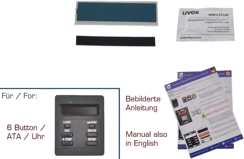 gearworks Display Repair Set for 3er//E30 Outdoor Temperature Display BC 1 Repair