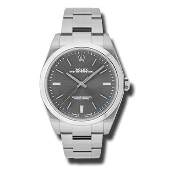 Rolex Oyster Perpetual automatic-self-wind Mens Reloj 114300 drso (Certificado) de