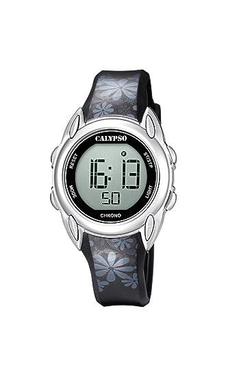 Calypso Reloj Digital para Mujer de Cuarzo con Correa en Plástico K5735/4: Amazon.es: Relojes