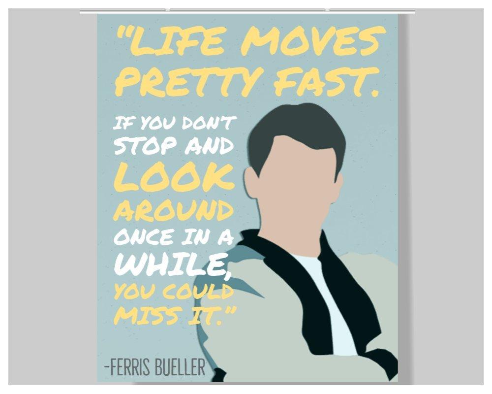 Amazon.com: Ferris Bueller Cita - Póster - 16 x 20 ...