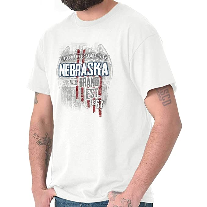d58979da7 Amazon.com  Nebraska State USA Patriotic American Eagle Tee T Shirt ...