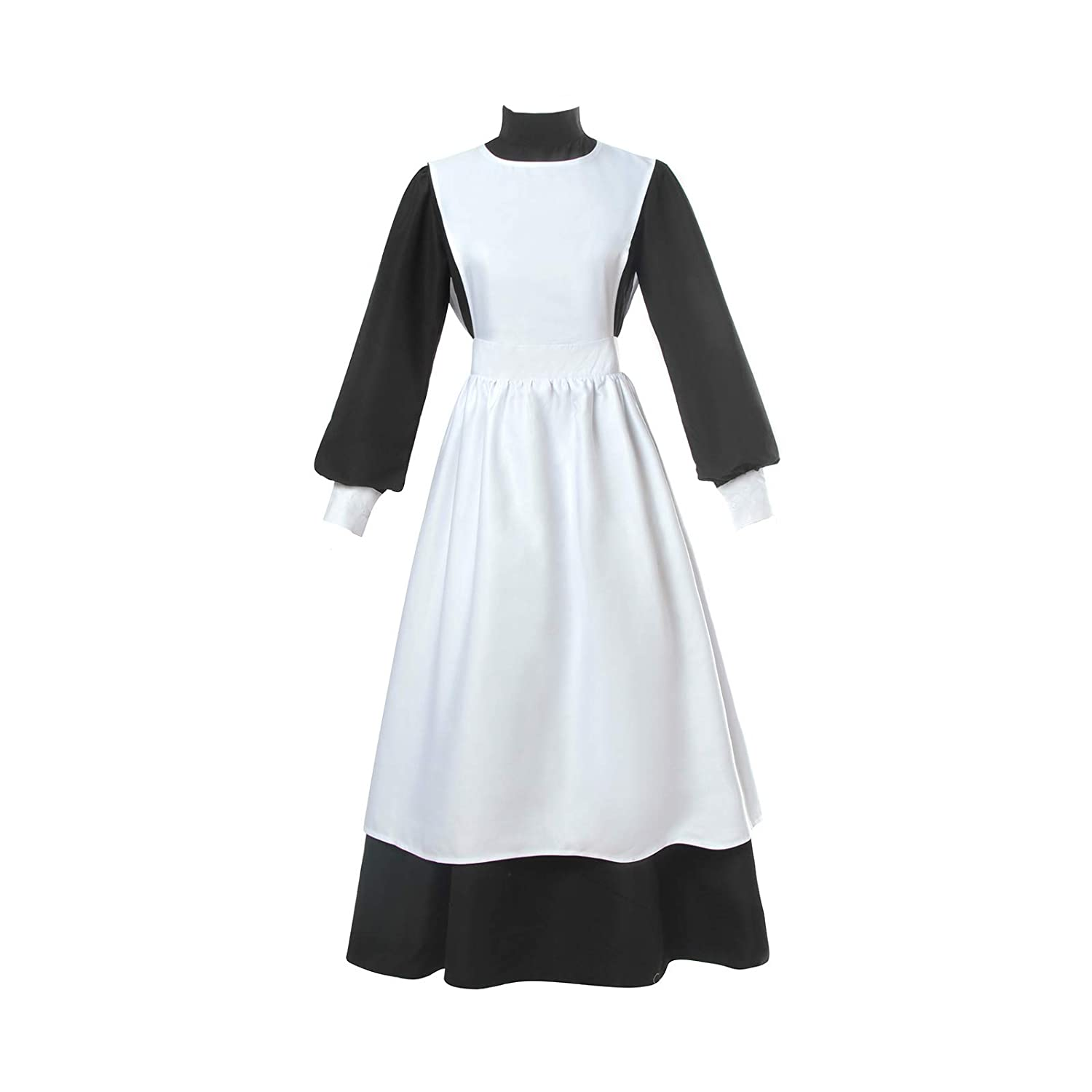 Pilgrim Woman Dress with Apron