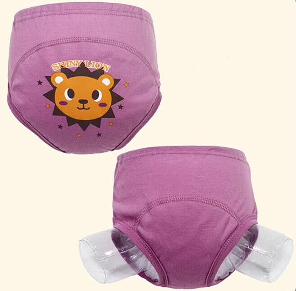 Baby Toddler Girls Cute 4 Layers Potty Training Pants reusable Set of 4 Pieces(100) 2017 New Anti Leakage Training Pants for Babies