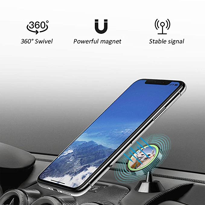 YIWANG 3 Colours Alumium Alloy Mobile Phone Holder Trim for BMW X3 G01 2018 2019,for BMW X4 G02 2018 2019 Car Accessories Blue