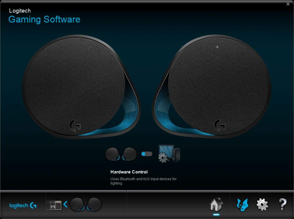 Logitech G560 LIGHTSYNC PC Gaming Speakers with Game Driven RGB Lighting by Logitech G (Image #7)