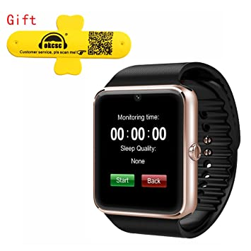 GT08 Bluetooth Smart Watch OKCSC(TM) Wrist Watch Phone with SIM ...