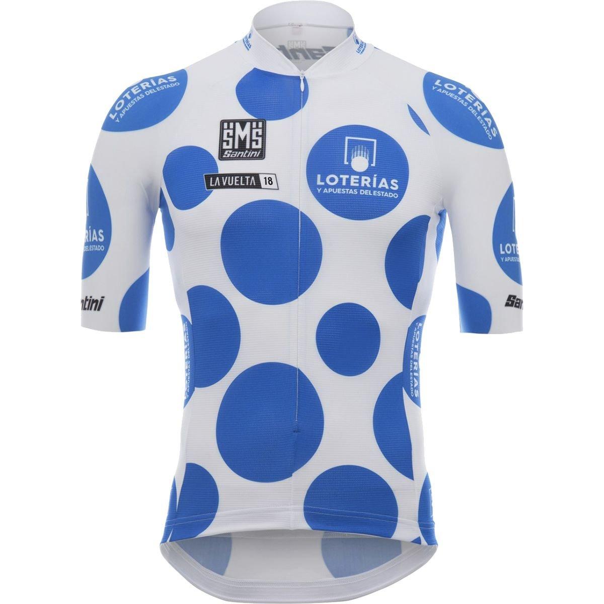 【人気商品!】 Santini La Vuelta King of the La Mountain Jersey Vuelta – B07FDVYB58 Men 's Large 水玉 B07FDVYB58, 相生市:84ad230d --- martinemoeykens-com.access.secure-ssl-servers.info
