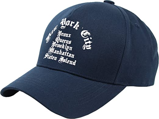 sujii NEW YORK CITY Gorra de Beisbol Baseball Cap Sombrero de Golf ...
