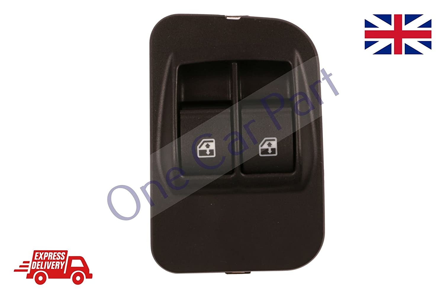 D2P Peugeot Expert Front Right Side Electric Window Switch