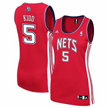 online store aba0e 1a199 Amazon.com : adidas Jason Kidd New Jersey Nets NBA Women's ...