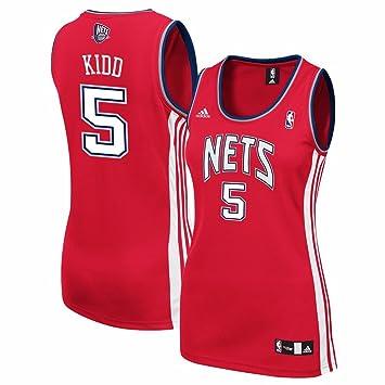online store 56d80 c2bfa Amazon.com : adidas Jason Kidd New Jersey Nets NBA Women's ...