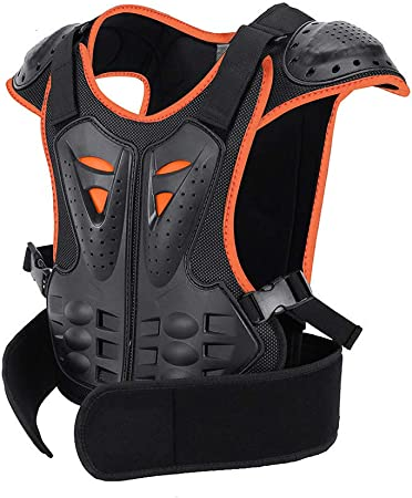 Motorcycle Armor Vest Chest Protector MTB Bike Back Guards Motocross Gear Adult
