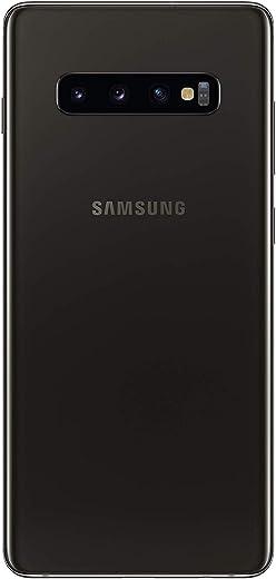 موبايل سامسونج جالكسي اس 10 بلس ثنائي شرائح الاتصال - سعة تخزين 128 جيجا، ذاكرة رام سعة 8 جيجا، شبكة الجيل الرابع ال تي اي - اللون اسود سيراميك