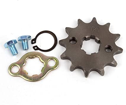 "4/"" Sprocket fits 530 Chain 18 Teeth Tooth 5//8/"" Keyed Shaft 1/"" Thick"