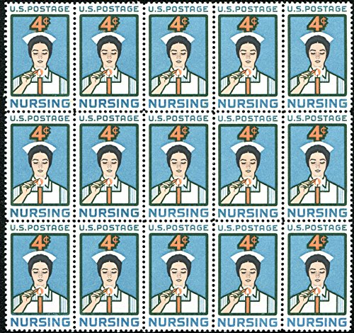 Nursing ~ Nurses (Block of 15 stamps #1190)