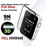Shopalfa™ Tempered Glass Screen Protector Compatible for iWatch Series 1/2/3 42mm