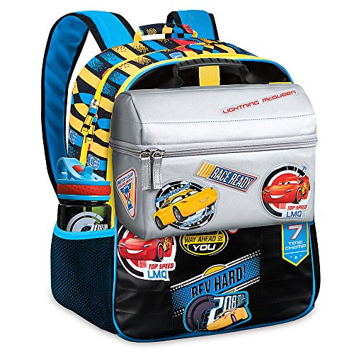 Disney Cars 3 Backpack and Lunch Tote Set