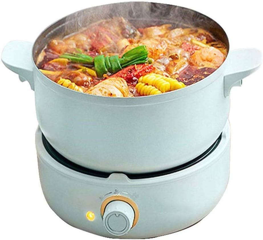 Fried Rice Eggs Fast Graffiti Pot Non-stick Wok KIJHO Electric hot Pot Upgrade Ideal for Steak 2.5 Liter Mini Pot