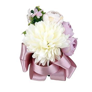 Prettyia Ganseblumchen Blumen Ansteckblumen Hochzeitsanstecker