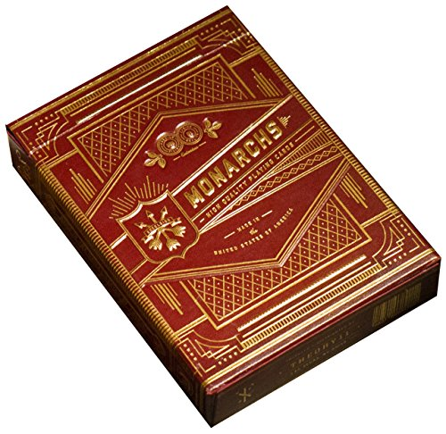 theory11 Monarch Playing Cards (Red)