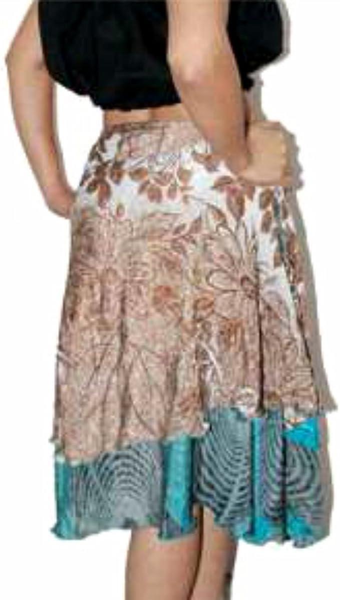 Vestido reversible Vestido falda Magic Polyester Tube Sarong Maxi ...